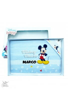 "Set lenzuola ""Mickey mouse"" da personalizzare"