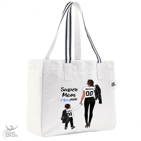 """Borsa Mare COLOR """"Super Mom"""""""