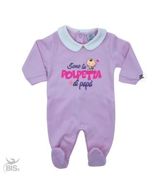 Tutina neonata con colletto...