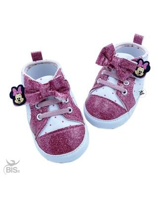Sneakers neonata rosa...