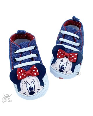 Sneakers denim neonata...