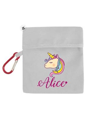 """Porta mascherina """"Unicorno..."""