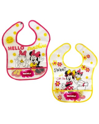"Pair of ""Minnie + name""..."