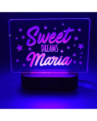 "Lampada Led ""Sweet Dreams""..."