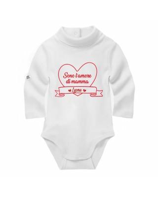 Baby turtleneck long sleeve bodysuit