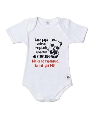 Short sleeve baby onesie...