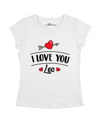 "Women's T-Shirt ""I love you"""