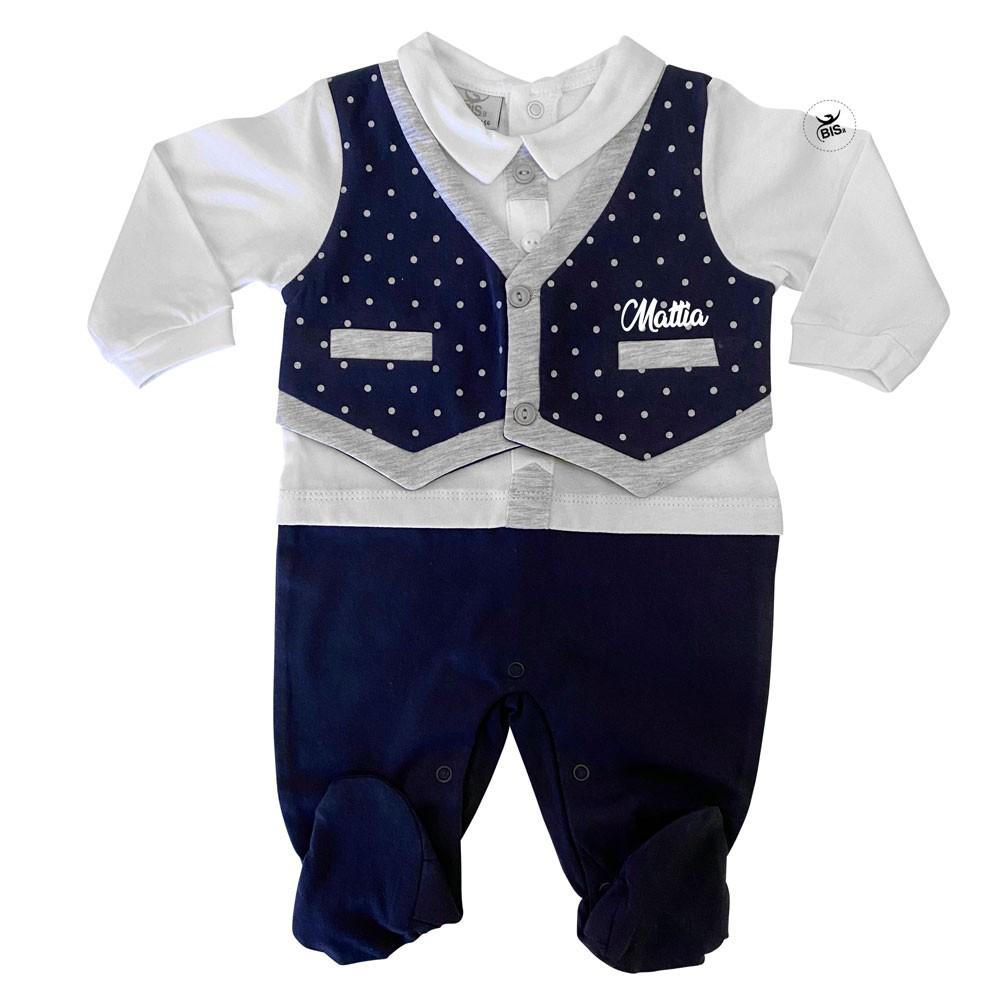 Customizable baby romper suit