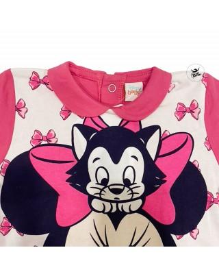 """Tutina estiva neonata """"Minnie"""" fuxia"""
