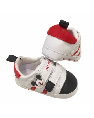 """Baby Crib Shoes """"Mickey Mouse"""""""