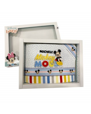 """Set lenzuola """"Mickey mouse""""  ROSSO"""