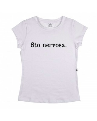 "T-shirt Donna  ""Sto nervosa"""