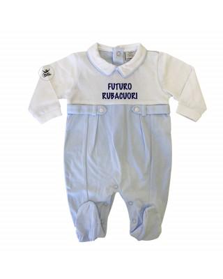 """Tutina neonato estiva """"Futuro rubacuori"""""""