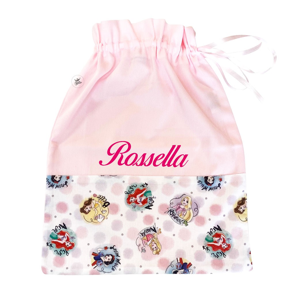 """Personalized First Change Bag """"Princesses"""""""