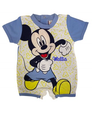 """Summer romper """"Mickey Mouse"""""""