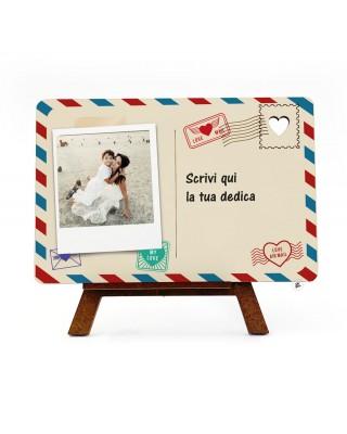 Cartolina in legno...