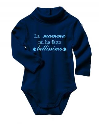 """Baby Neck Bodysuit  """"Mom..."""