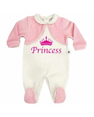 """Baby Girl Romper """"Princess"""""""
