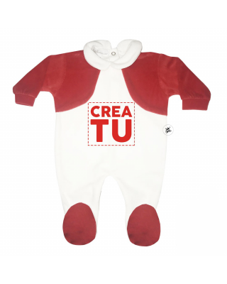 PERSONALIZED Baby's Velour...
