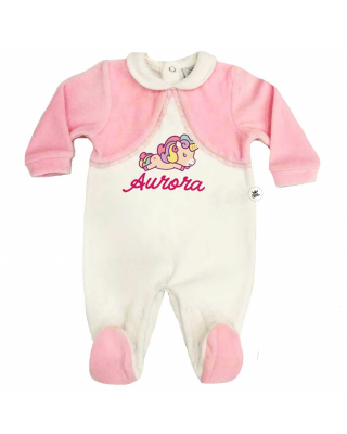 Chenille Newborn Bodysuit...