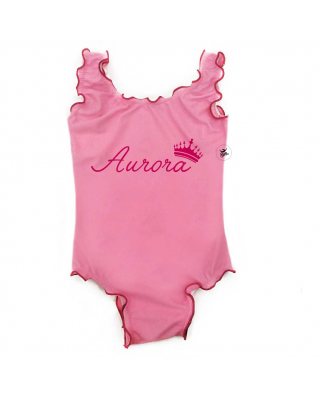 Girl's One Piece Swimsuit...