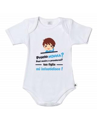 """Baby bodysuit """"Hello..."""