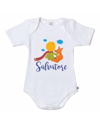 """Body neonato """"Piccolo Principe"""" da personalizzare"""