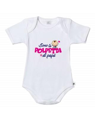 """Bodysuit """"Sono la polpetta di papà"""""""