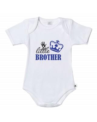"Baby Bodysuit ""Little Brother"""