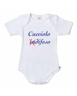 """Body neonato """"Cucciolo inDIFESO"""""""