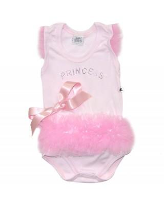 body neonata princess con tulle