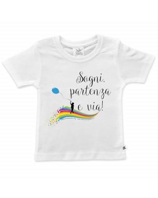 "T-shirt bimbo/a ""Maneggiare..."