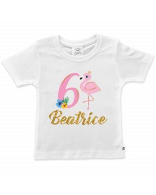 Birthday T-Shirt - Flamingo