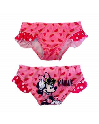 "Costume mutandina ""Minnie"" con ruches rosa"