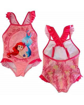 """Costume intero bimba """"La Sirenetta"""" rosa chiaro"""