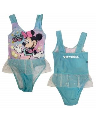 """Costume intero """"Minnie sirenetta"""" azzurro"""