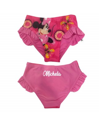 "Costume mutandina ""Minnie""  fuxia"
