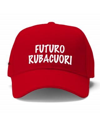 Cappellino bimbo con visiera rosso