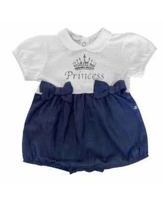 """Pagliaccetto jeans """"Princess"""""""