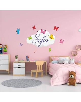 "Adesivi murali ""Farfalle""..."