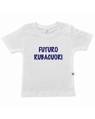 T-shirt bimbo futuro rubacuori