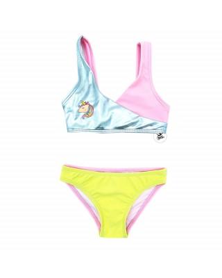 Bikini bimba con Unicorno da personalizzare con nome