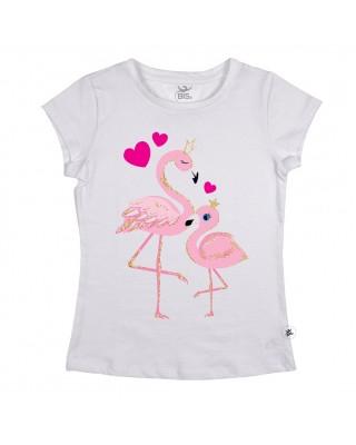 """T-shirt Donna  """"Fenicotteri"""""""