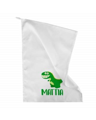 Asciugamano asilo DINOSAURO