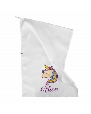 """Asciugamano asilo """"Unicorno"""""""