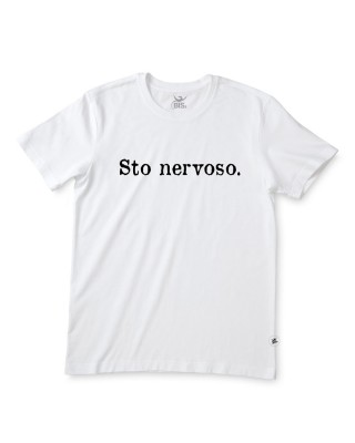"T-shirt uomo mezza manica ""Sto nervoso"""