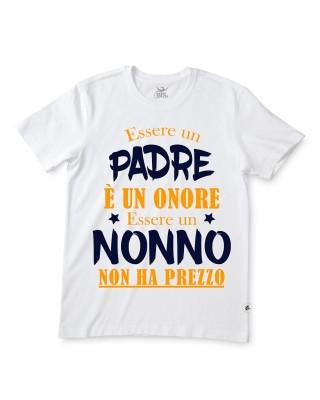 """T-shirt uomo mezza manica """"Se nonno non può aggiustarlo nessuno può farlo"""""""