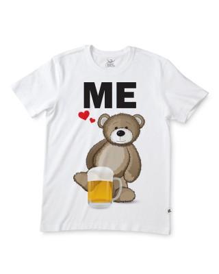 "T-shirt uomo mezza manica ""Papà orso"""