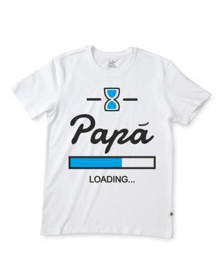 """Man T-shirt """"Dad Loading"""""""