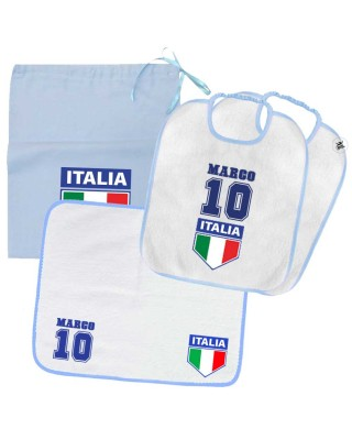 "Kit Asilo bimbo ""Italia"""